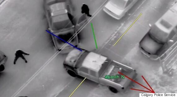 Calgary Police Helicopter Video Shows How Reckless A Stolen Car Can