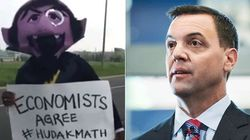WATCH: Hudak's Math Mocked By 'Count Von
