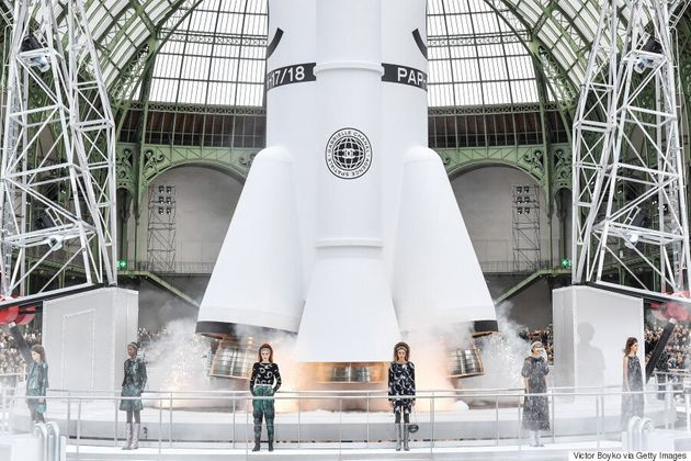 How Chanel Pulled Off That Rocket Liftoff At Their Fall 2017