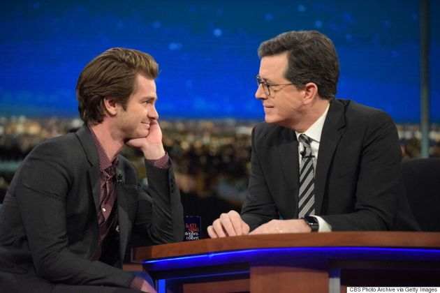 Andrew Garfield Kissed Ryan Reynolds For The Sweetest