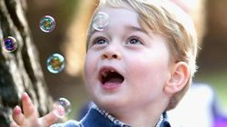 Royal Kids Lose Their Cool For Balloons, Bubbles And Dogs At
