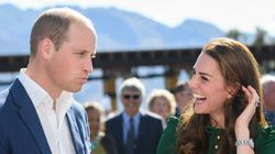 Duke And Duchess Of Cambridge Dig Into Phallic-Shaped
