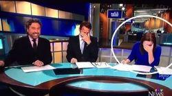 Winnipeg News Anchor Can't Stop Laughing About Bizarre 'GoatMan'