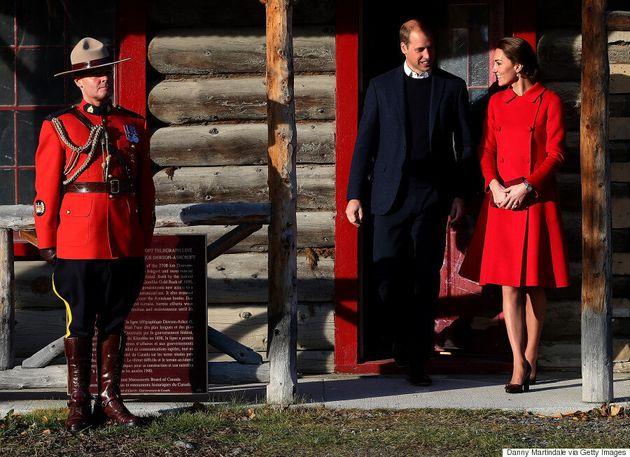 Kate Middleton Wears Sentaler Coat During Last Day In