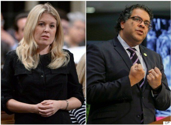 MP Michelle Rempel And Naheed Nenshi Spar Over