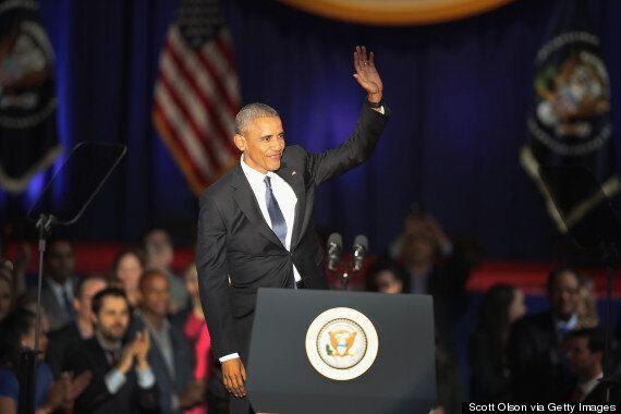 Obama Tells Anxious America To Be Hopeful In Emotional