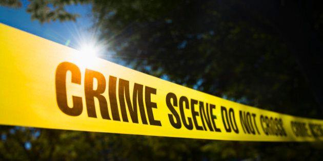 Crime scene barrier