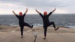This Bhangra Routine At Peggy's Cove Is So