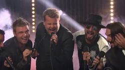 James Corden Sings 'Backstreet's Back' And It's More Than All
