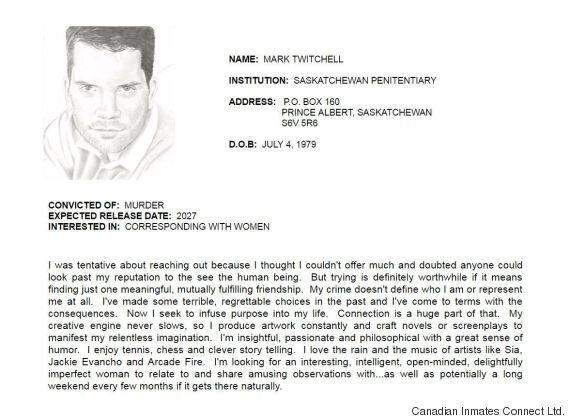 Mark Twitchell, Edmonton's 'Dexter Killer,' Posts Online Dating
