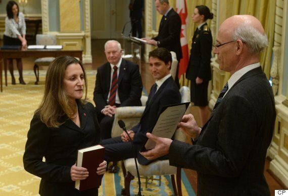 Trudeau Cabinet Shuffle: Chrystia Freeland Replaces Stephane Dion At Foreign