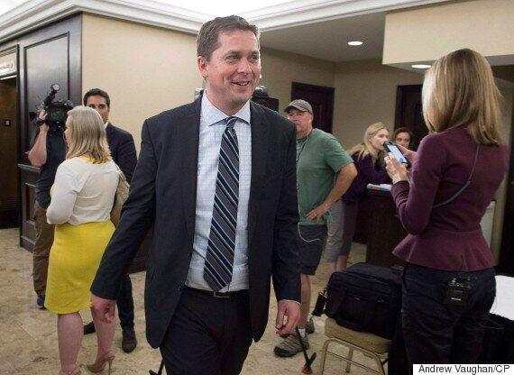 Andrew Scheer Joins Conservative Leadership