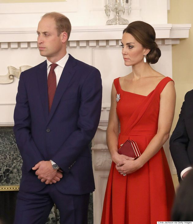 Kate Middleton Wears Queen Elizabeth II's Diamond Maple Leaf Brooch At Reconciliation