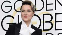 Evan Rachel Wood's Tux Pays Homage To Bowie AND Empowers Young
