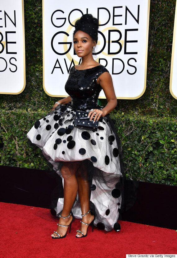 Janelle Monae Was Queen Of The 2017 Golden Globes Red