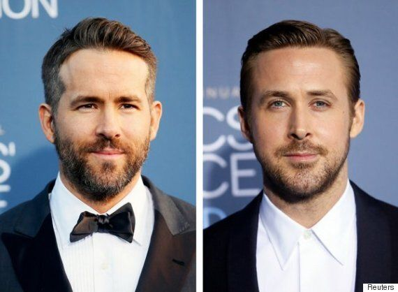 Ryan Gosling And Ryan Reynolds Face Off At The Golden