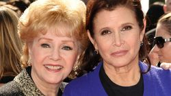 Stars Gather To Mourn Carrie Fisher And Debbie
