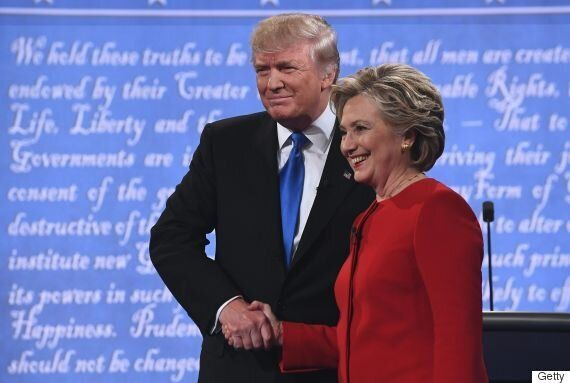Presidential Debate: Clinton, Trump Battle Over Taxes, Race,