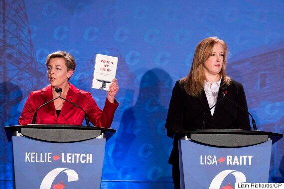 Lisa Raitt Blasts Kevin O'Leary, Kellie Leitch For 'Irresponsible,' Trump-Like