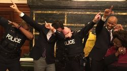 Justin Trudeau Took A Break To Dab With