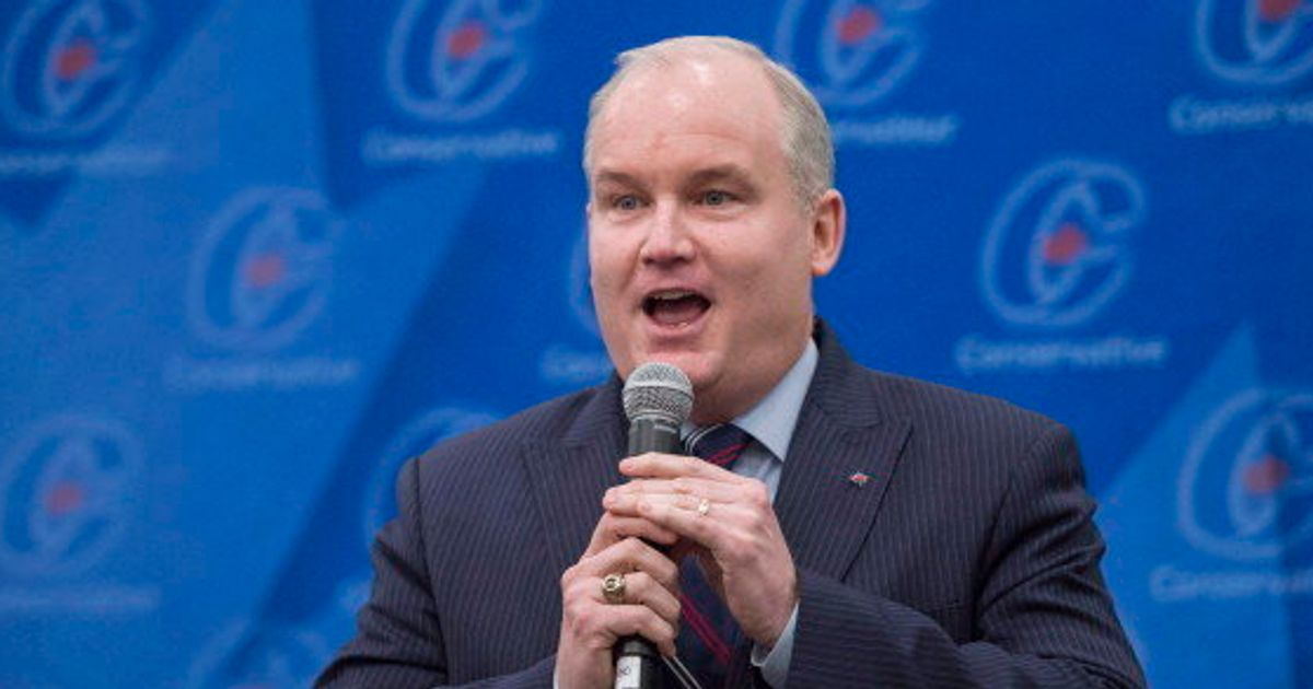 Erin O'Toole Aims To Convince Tories He'll Beat Trudeau Without
