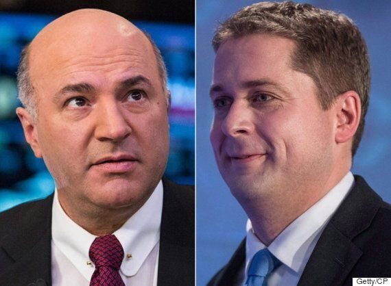 Andrew Scheer: It's Time For Kevin O'Leary To 'Fish Or Cut