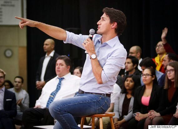 Trudeau's Cross-Country Tour Shows True Courage In