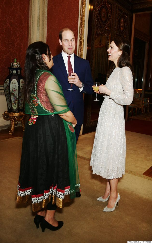 The Duchess Of Cambridge Shines Bright To Launch The U.K.-India Year Of