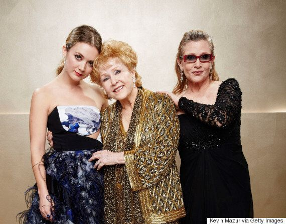 Billie Lourd's Stepfather Sends Her Beautiful Message Of