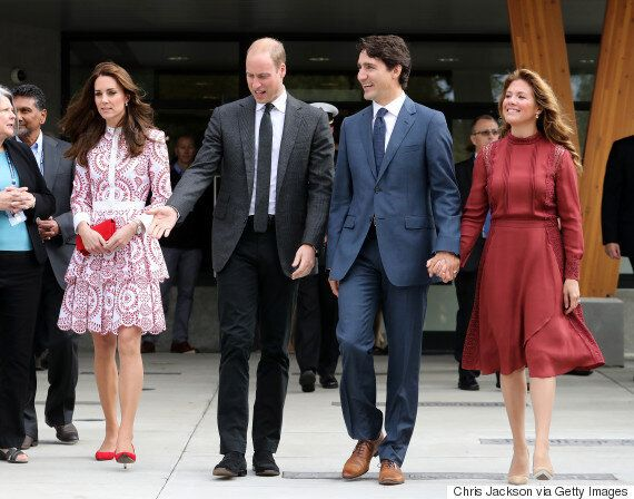 Sophie Grégoire Trudeau Looked Regal During Royal Visit In