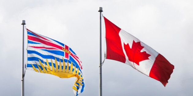 Flags of British Columbia and