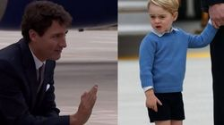 Prince George Totally Snubbed Prime Minister Justin