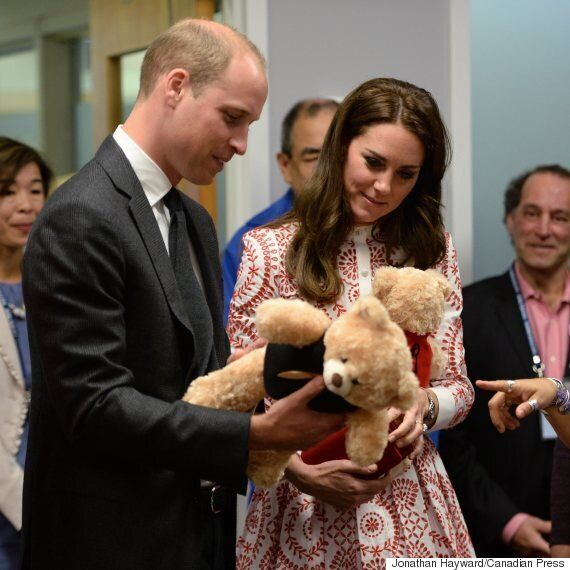 Royal Visit 2016: Will And Kate Arrive In