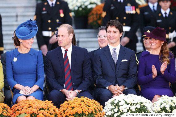 Sophie Grégoire Trudeau And Kate Middleton Choose Similar Dresses For Airport