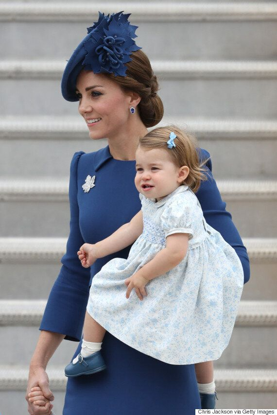 Royal Tour 2016: Prince George And Princess Charlotte Arrive In