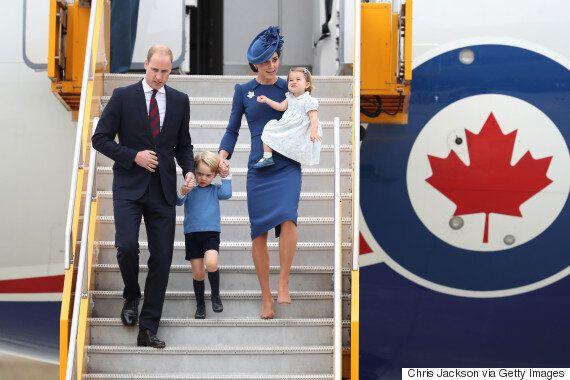 Royal Visit 2016: Duke And Duchess Of Cambridge Begin Week-Long West Coast