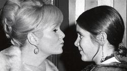 Most Touching Photos Of Debbie Reynolds And Carrie