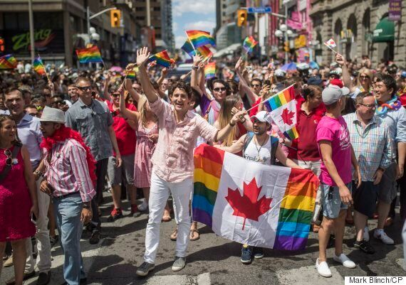 A Gay Refugee's Journey From Syria To Proudly Marching Next To Justin