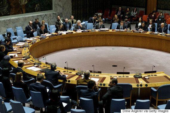 UN Security Council Censure Of Israel A Step Toward