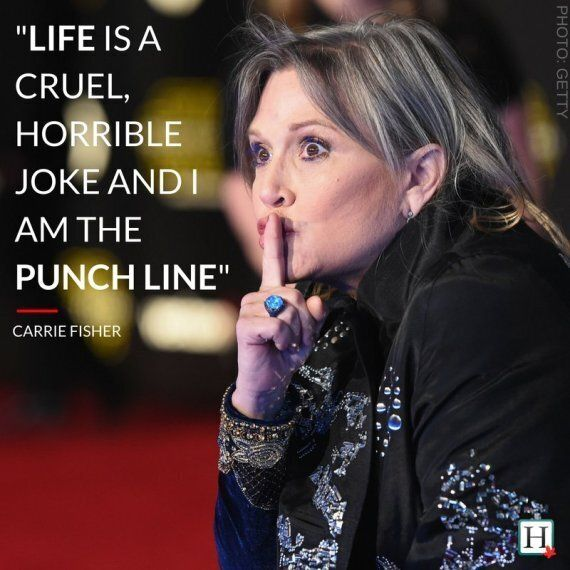 Carrie Fisher Quotes   Carrie Fisher Quotes Unforgettable Words From The Star Wars
