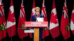 Wynne Now The Least Popular Premier In Canada, Poll