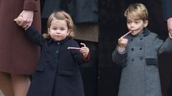 Prince George, Princess Charlotte Crush Candy Canes After