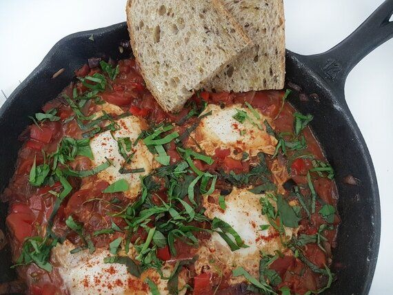 Perfect For Holiday Brunch: Shakshuka (A.K.A. Eggs In