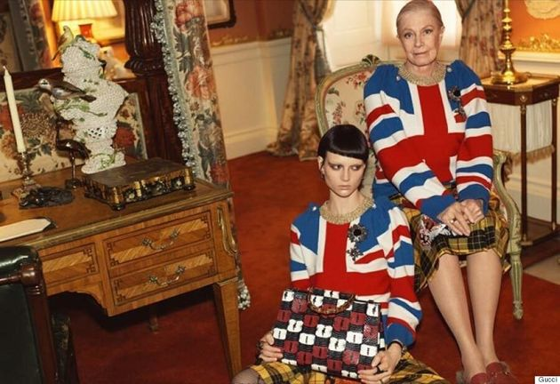 79-Year-Old Vanessa Redgrave Stars In Gucci Cruise 2017