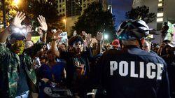 Black Lives Matter Protest In Charlotte Turns