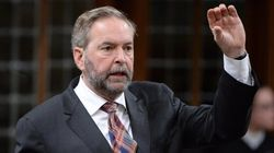 Mulcair's Strategy May Have Cost Him His Own