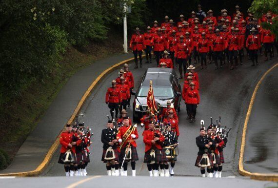 Sarah Beckett Funeral: Thousands Of Officers Attend Ceremony For Fallen B.C.