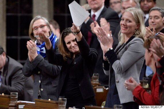 Chrystia Freeland Hits NDP On 'Leap Manifesto,' Says Party Wants To Shut Down Energy