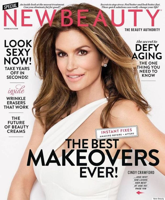 Cindy Crawford Reflects On The Pressures Of Aging In New