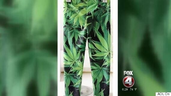 Toddler Marijuana Leggings Spark
